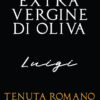 etichetta olio extravergine d'oliva monocultivar Luigi tenuta romano1920 mo