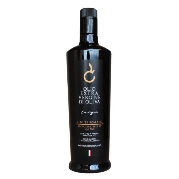 Bottiglia olio evo tenuta romano 0.75cl monocultivar